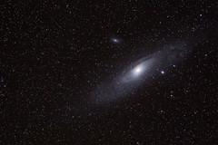 Mi primera galaxia (Alfredo.Ruiz) Tags: canon andromeda m31 alava galaxia ecuatorial montura ef70300 1x4 eos6d multiplicador