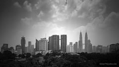 Hazy-Sunny Kuala Lumpur