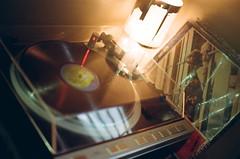 #91. Vinyl Audio (Louis.Auster) Tags: color k analog nikon media kodak f14 200 sound plus nikkor 50 fm analogphotography outdate