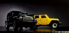 Jeep Wrangler -7 (difenbaker) Tags: jeep wrangler diecast tomica トミカ