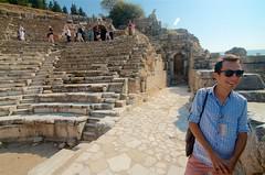 The Bouleuterion... or Odeon (?) (hecticskeptic) Tags: turkey ephesus libraryofcelsus templeofhadrian bouleuterion nymphaeumtraiani markamorgan