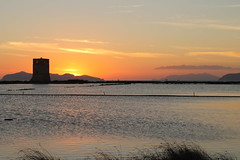 Tramonto (giardina.federico) Tags: tramonto torre saline sicilia trapani egadi