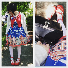 051515-01 (nezumichuu) Tags: cute me fashion lolita nezumi lolitafashion dailycoordinate mylifewithmister