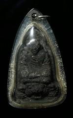 พระผงว่านรุ่นแรกพิมพ์ใหญ่ พ่อทวดไกร วัดลำพะยา จ.ยะลา จัดสร้างปี พ.ศ.2505  1