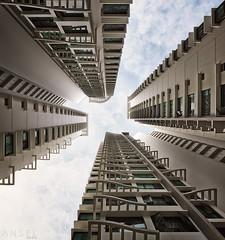confines (draken413o) Tags: travel homes urban up look architecture singapore asia shift places blocks 24mm tilt hdb neighbourhood destinations fernvale vertorama geometrick