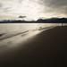 Praia na península de Homer