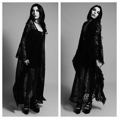 Allyssa in Lace (SAS PHOTOS) Tags: blackandwhite fashion gothic asburypark goth womensfashion asburyparknj alternativefashion sarahsmith gothfashion sasphotos fetishasburypark sarahsmithphotography
