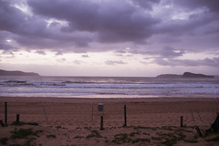 Cloudy seascape sunrise at Umina Beach (Merrillie) Tags: uminabeach sunrise nature australia nswcentralcoast newsouthwales sea nsw water beach ocean centralcoastnsw waterscape waves photography outdoors oceanbeach seascape landscape centralcoast dawn clouds