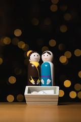 Mary and Joseph (T_J_G) Tags: christmas nativity mary joseph three kings xmas religion bokeh d750 off good strobist stable jesus
