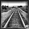 Aug 2009 - Southbound railroad tracks (lazy_photog) Tags: lazy photog elliott photography burlington northern santa fe railroad southbound bighorn mountains eastern side dangerous flying conditions