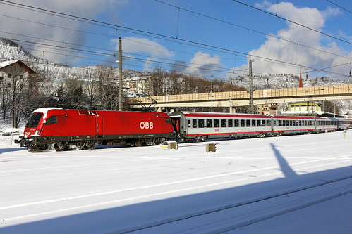 ÖBB 1016 045-7 Intercity, Kufstein