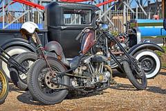 Old Skoolz... (Harleynik Rides Again.) Tags: chopper retro hd harley bike motorcycle pickup rat harleynikridesagain nikond810