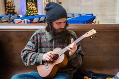 Play me a song!_DSC5437.jpg (GDMetzler) Tags: unionstation ukulele musician traveler street chicago nikond610 illinois amtrak