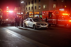 The Aftermath (J_Jacks1985) Tags: a7s hollywood hollywoodboulevard street streetphotography accident firetrucks emergency roadaccident nightscene