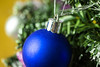 Christmas blue ball on the pinetree (mikhafff1984) Tags: ball tree white winter blue background decoration green blink ornament red new holiday bright star xmas decor element christmas fir season pine decorative shiny still tradition design color text bauble art ornate snow branch border year macro
