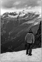 Torment & Forbbiden from Johannesburg Col 1977 (Fogle Images) Tags: bostonbasin landscape gropp portrait alpineclimbing johannesburgtomagicmnttraverse northcascades wa