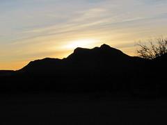 Sunrise at Allamore (Universal Pops (David)) Tags: sunrise morning hill obstruction desert allamore texas