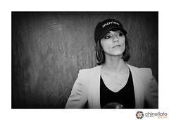 Ana Lily Amirpour (ChinellatoPhoto) Tags: venezia venice venicefilmfestival mostradelcinemadivenezia ritratto portrait blackwhite cinema attore attrice regista director venezia73 analilyamirpour
