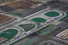 Traffic Queue at LAX (Mark Harris photography) Tags: lax traffic aircraft plane aviation la canon 5d