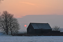 Sunset Feb12,2017 (Piet Bink (aka)) Tags: zon zonlicht zonsondergang sun sunlight sunset twilight yabbadabbadoo