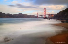 the golden gate bridge view from marshall beach (Rex Montalban Photography) Tags: rexmontalbanphotography goldengatebridge sanfrancisco nd10 longexposure hdr