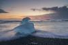 Breiðamerkursandur Ice beach (shaunyoung365) Tags: iceland iceberg sonya7rii sunrise beach seascape sea