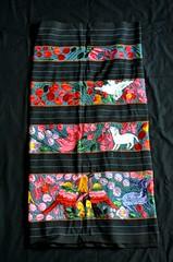 Enredo Skirt Nahua Acatlan Guerrero Mexico (Teyacapan) Tags: mexican skirts enredo embroidered nahua acatlan guerrero animals