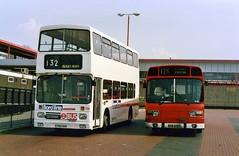Boro'line Maidstone 702 & LS375 (Vernon C Smith) Tags: maidstone boroline volvo leyland national eltham station