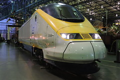 Eurostar 3308 (mike_j's photos) Tags: nrm national railway museum york class373 3308 eurostar