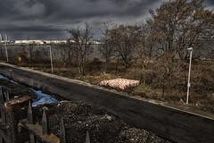 Barriers--Staten Island (PAJ880) Tags: staten island kill van kull barriers traffic industrial tanks plant nyc new york