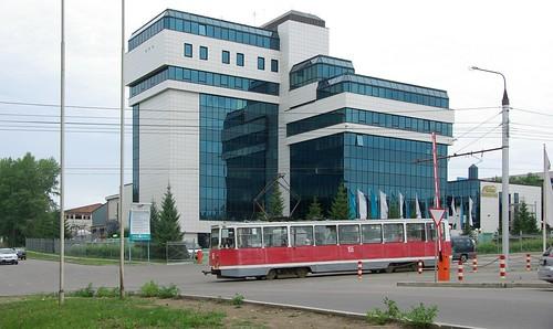 Irkutsk tram 71-605 155 ©  trolleway