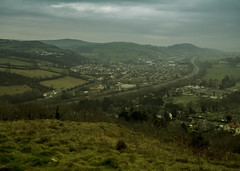 A55 from Bryn Euryn (Brian The Euphonium) Tags: a55 road northwales bryneuryn conwy grey dull misty pentax ks2 sigma1020mm welshflickrcymru