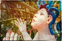 Jungle Goddess.. (otterman51) Tags: artgallery burlington canada ontario colours memories photography statue texture agb abstract