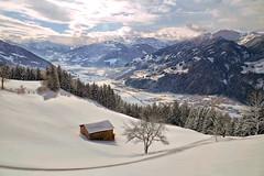 Zillertal (Don César) Tags: zillertal austria europe europa winter snow nieve invierno valle valley tal white blanco montaña mountains alps alpes calm sun österreich reithimalpbachtal kufstein tyrol tirol