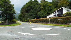 Traffic Free (Ian R. Simpson) Tags: a591 road countryside trafficfree signpost landscape lakedistrict cumbria england