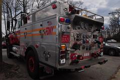 FDNY BFU-1 (Triborough) Tags: ny nyc newyork newyorkcity richmondcounty statenisland woodrow fdny newyorkcityfiredepartment firetruck fireengine brush fire unit brushfireunit1 bfu bfu1 international brushtruck kme