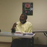Du Bois lecturer Professor Campbell speaking at Douglass Community Center, Spring 2012