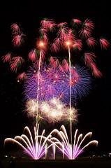 第26回赤川花火大会 The 26th Akagawa Fireworks Festival (ELCAN KE-7A) Tags: 日本 japan 山形 yamagata 庄内 shonai 鶴岡 tsuruoka 赤川 aka river 花火 fireworks ペンタックス pentax 2016 k5