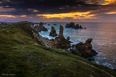 Costa quebrada, Cantabria (allabar8769) Tags: cantabria liencres losurros mar paisaje rocas atardecer fa ngc