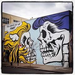 D*Face @ Bushwick / Brooklyn - New York...  Photo : Lionel Belluteau Plus de photos sur http://www.unoeilquitraine.fr/  @dface_official #dface #brooklyn  #bushwick #bushwickcollective #new_york #unoeilquitraine #streetart #art #streetartnyc #lionelbellute (un oeil qui traîne) Tags: instagramapp square squareformat iphoneography uploaded:by=instagram lofi