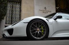 Porsche 918 Spyder - Weissach Package (mpannetier) Tags: paris champselysees nikon streetphotography spyder porsche carphotography 918 georgev carspotting d5100