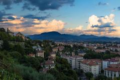 Dark skies over Bergamo (Dean Ayres) Tags: italy italia bergamo lombardia lombardy