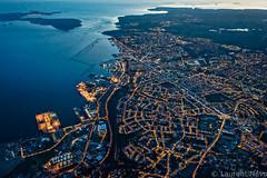 _D812244_De St Marc à Camaret (Brestitude) Tags: city night port harbor brittany bretagne aerial breizh brest nuit ville finistere aérien rade saintmarc brestitude ©laurentnevo
