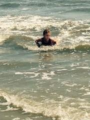 Hilton Head Island Summer 2015 Days Three and Four (evamadera) Tags: ocean family beach water sand shore boogieboard hiltonheadisland
