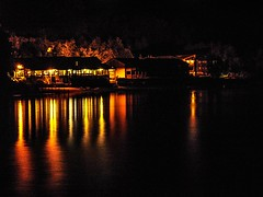 reflection on the Loch (NoOneLikeMe78) Tags: reflection night reflections reflecting scotland sony lochlomond luss marilynconnor