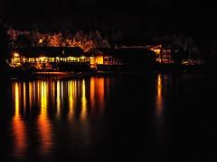 reflection on the Loch (MC Snapper78) Tags: reflection night reflections reflecting scotland sony lochlomond luss marilynconnor