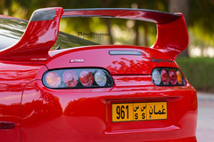 Toyota Supra (mahernaamani) Tags: red cars love car sport japan speed canon japanese automobile automotive super turbo single toyota oman supercar muscat jdm supra trd 6d toyotasupra carporn 2jz canon6d omancars carswithoutlimits onlyjdm