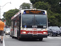 Toronto Transit Commission 8370 on 162 Lawrence-Donway (Orion V) Tags: ttc