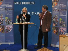 Thomas Schneider: ideaSpektrum-Stand Buchmesse 2009 in Leipzig
