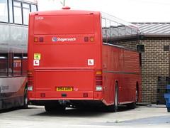 R34 AKV (markkirk85) Tags: new red bus buses volvo northampton south premiere 34 midland stagecoach midlands r34 akv plaxton b10m 52434 81997 b10m62 r34akv